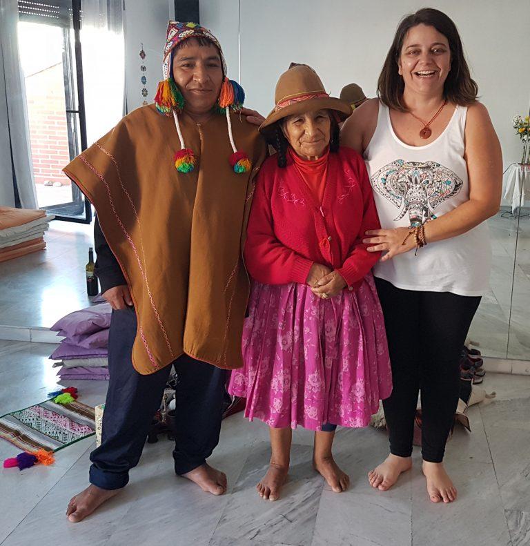 Con Doña María Apaza y D Manuel Jerillo
