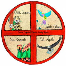 Logo Rueda Mujer Medicina, Priscila Méndez Segura